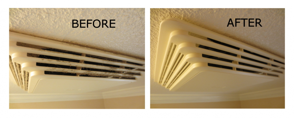 Genial Before After Bathroom Vent Cover
