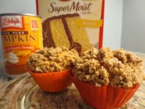 "Easy ""Great Pumpkin"" Muffins"